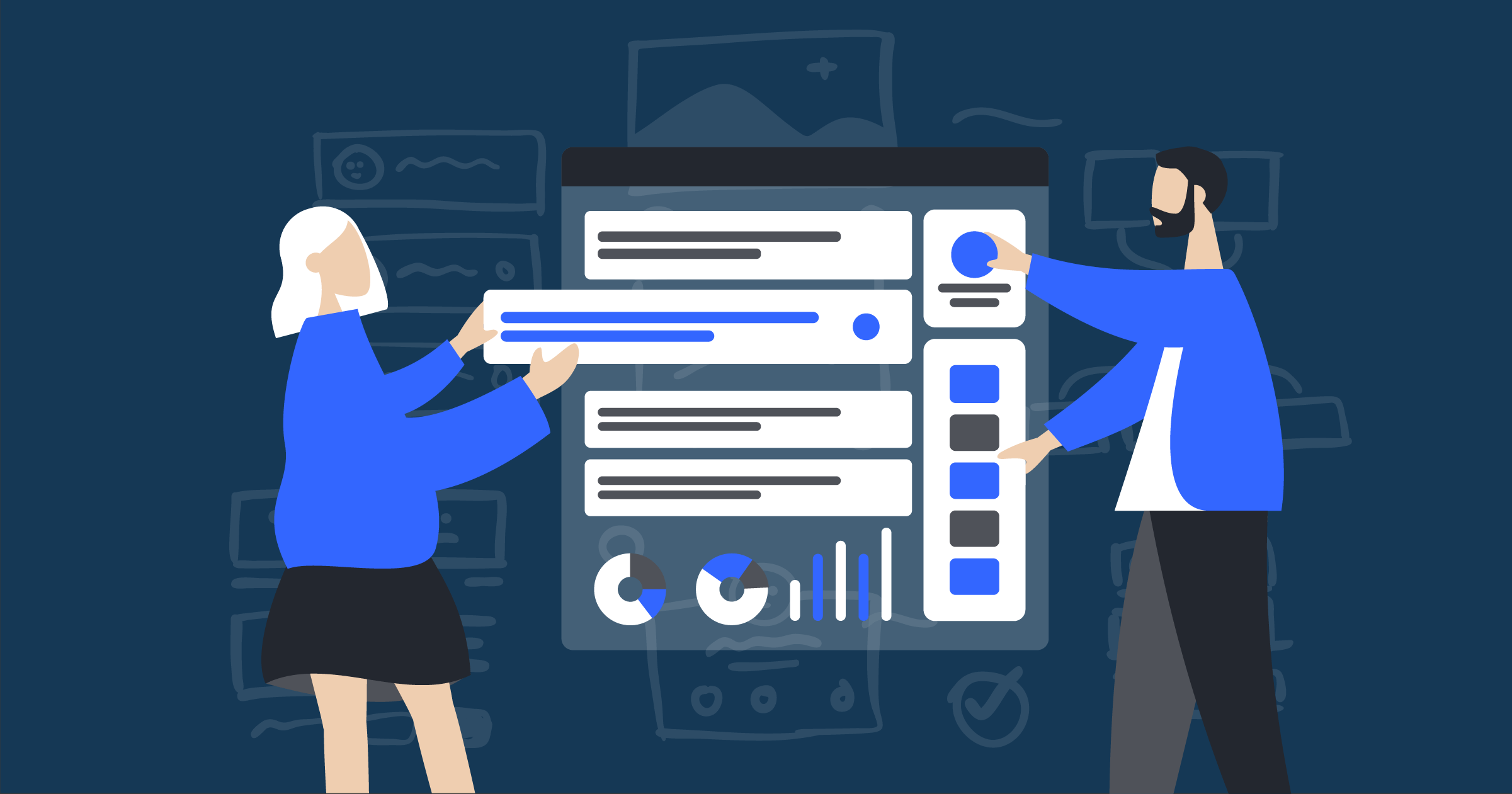 Our newest features help you create more robust experiences faster, provide better interaction data, and manage organizations more systematically.