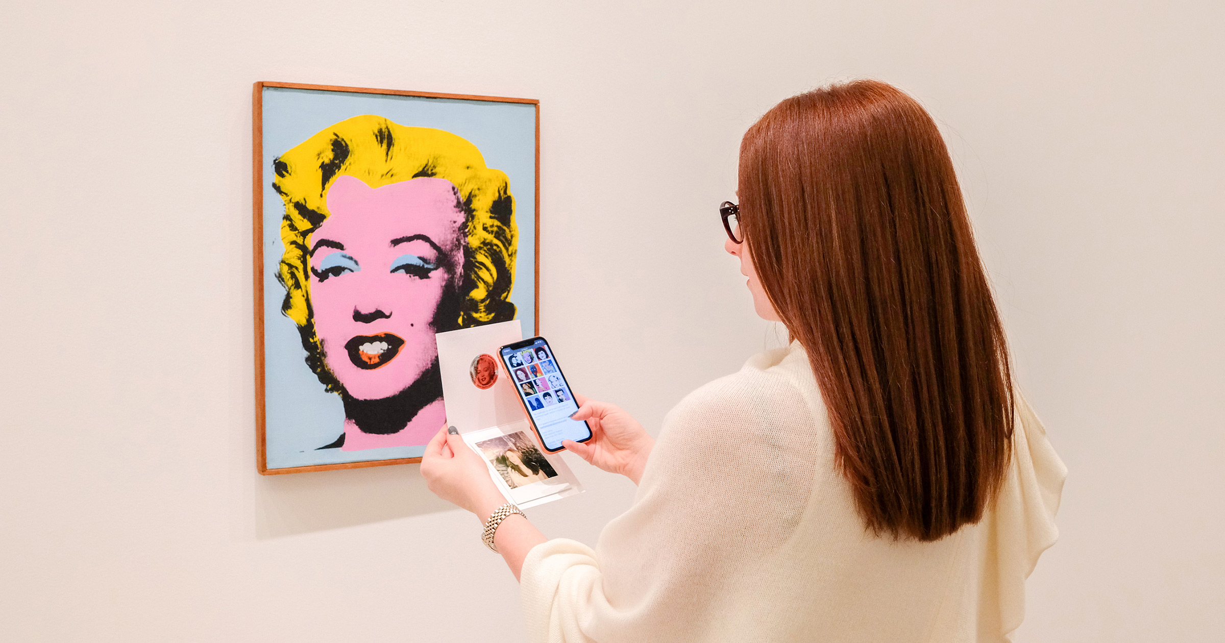 Blue Bite powers Warhol Women, a new exhibition at Lévy Gorvy in New York that presents Andy Warhol's portraits of women from the early 1960s through the 1980s, inviting the viewer to ponder the artist's complex and often contradictory relationship to myths and ideals of femininity, beauty and power.