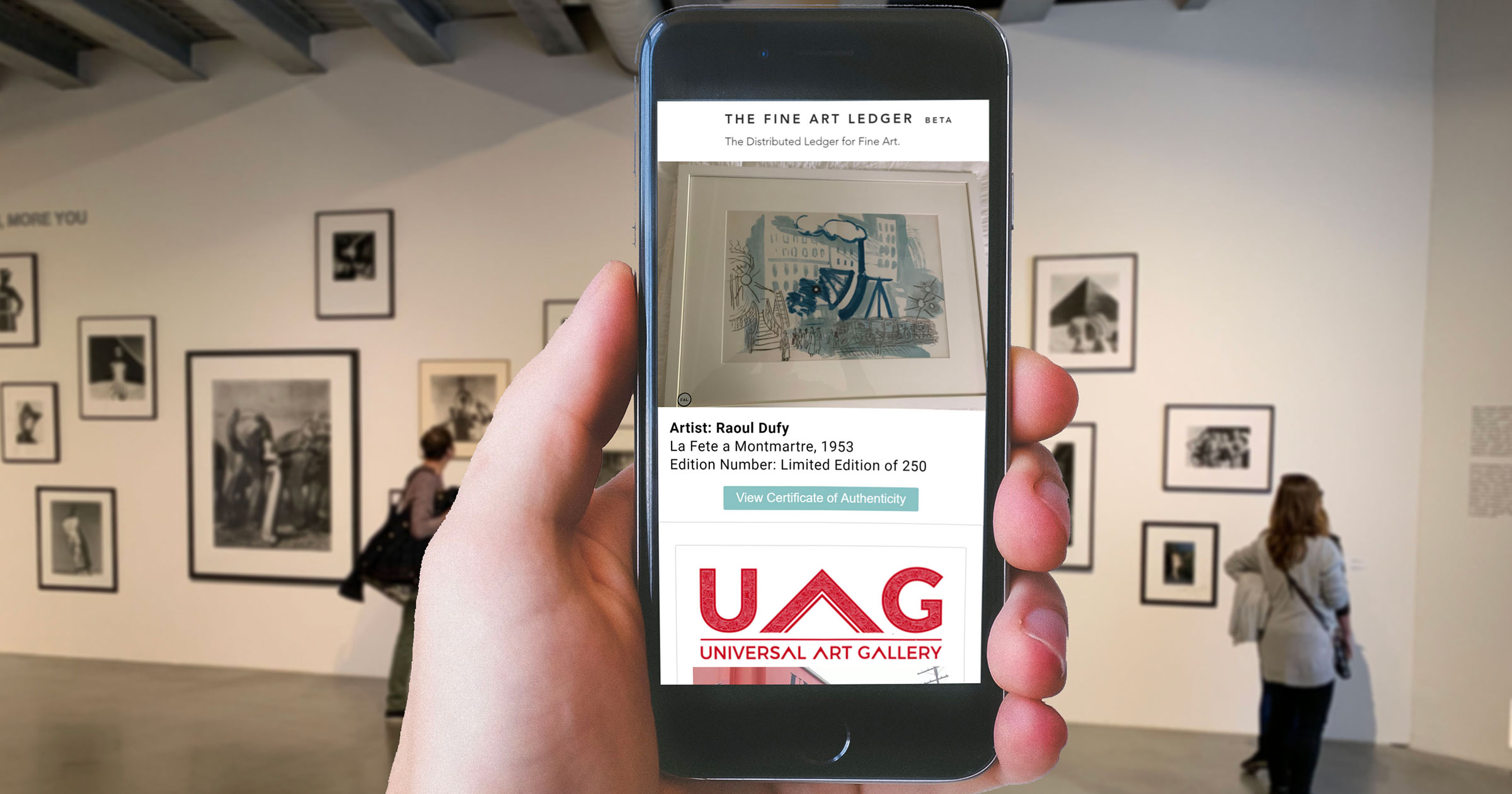 Innovative new blockchain solution finds application for authentication in the art world