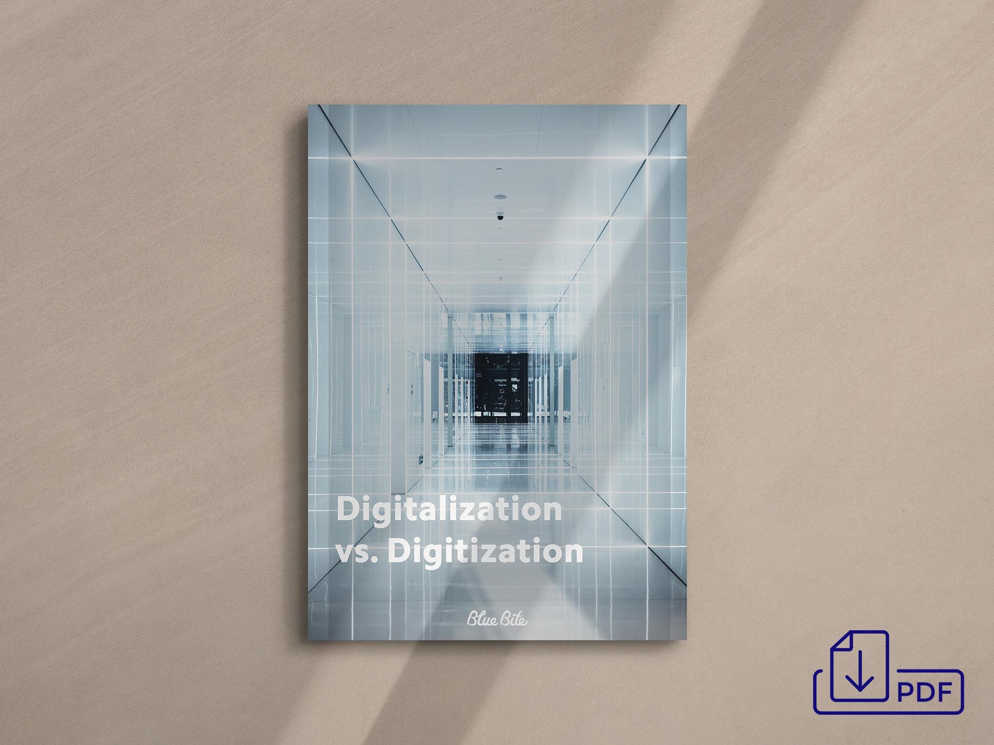 Get the Digitalization vs Digitization PDF