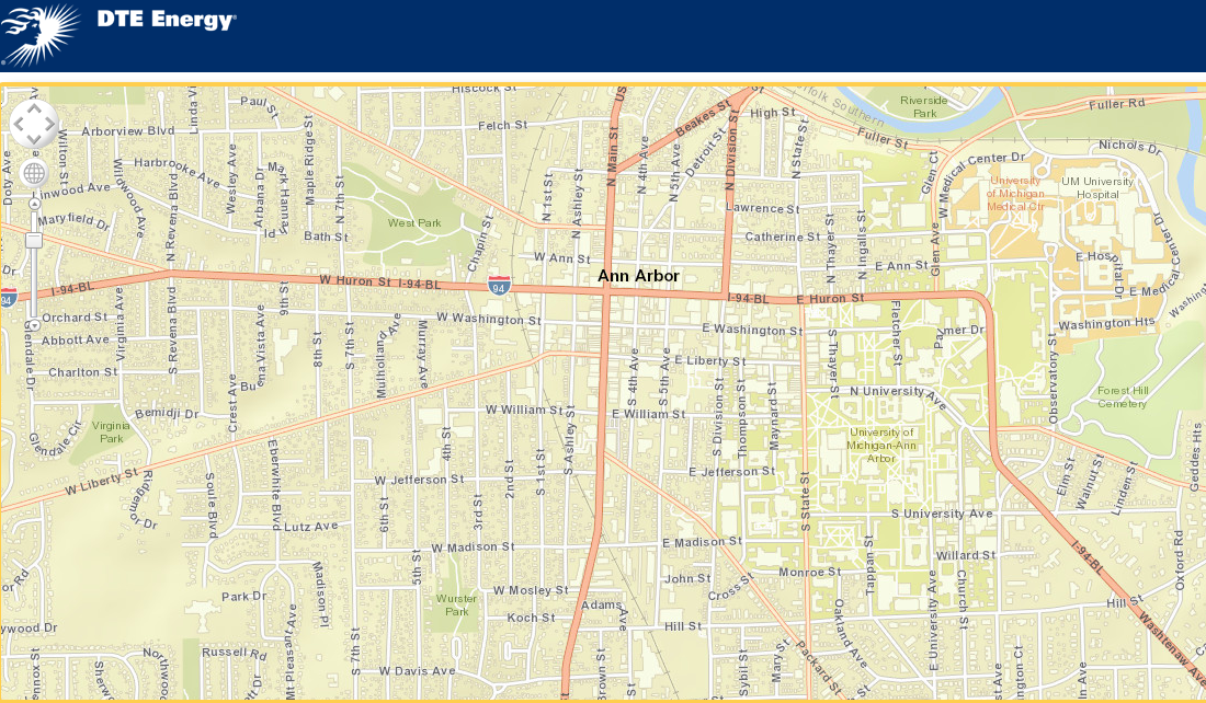 Baker Street on cell tower map, cell phone service area map, at&t wireless map, coverage map, at&t cell site map,