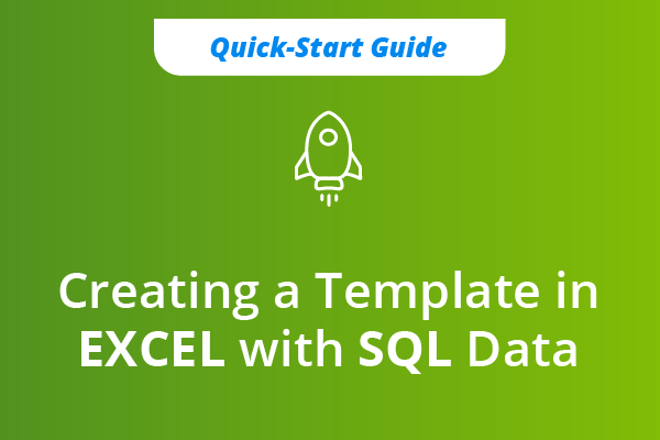 SQL Data to Excel