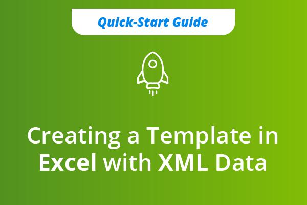XML Data to Excel