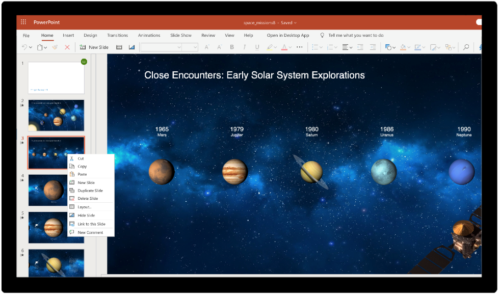 solar system exploration powerpoint