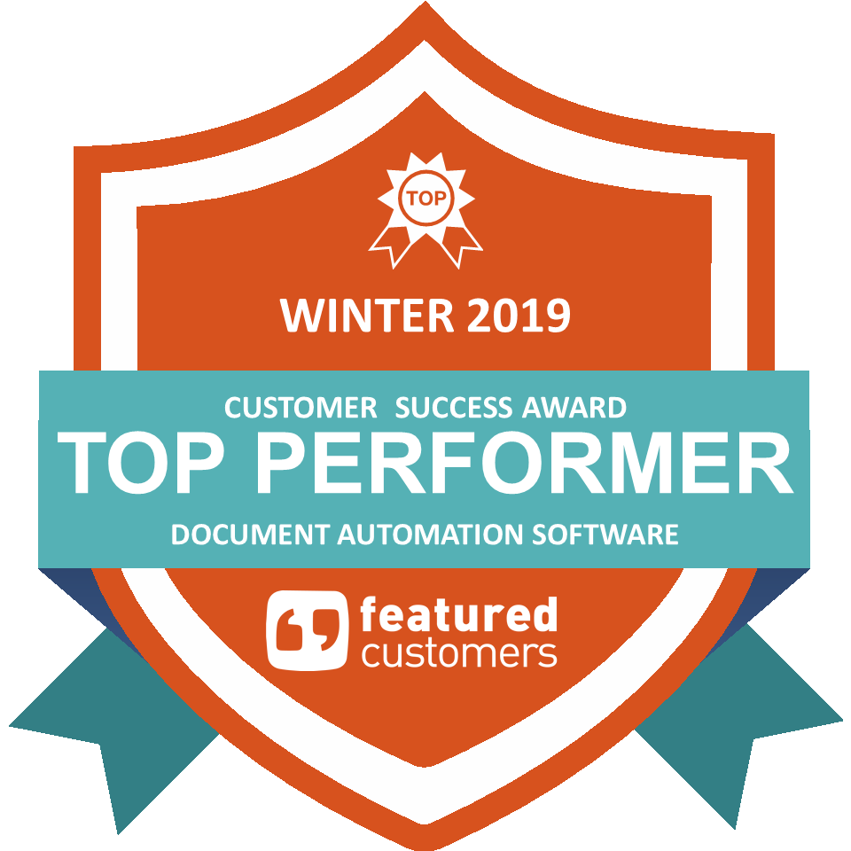 Badge from Featured Customers for Windward: Top Performer Winter 2019.