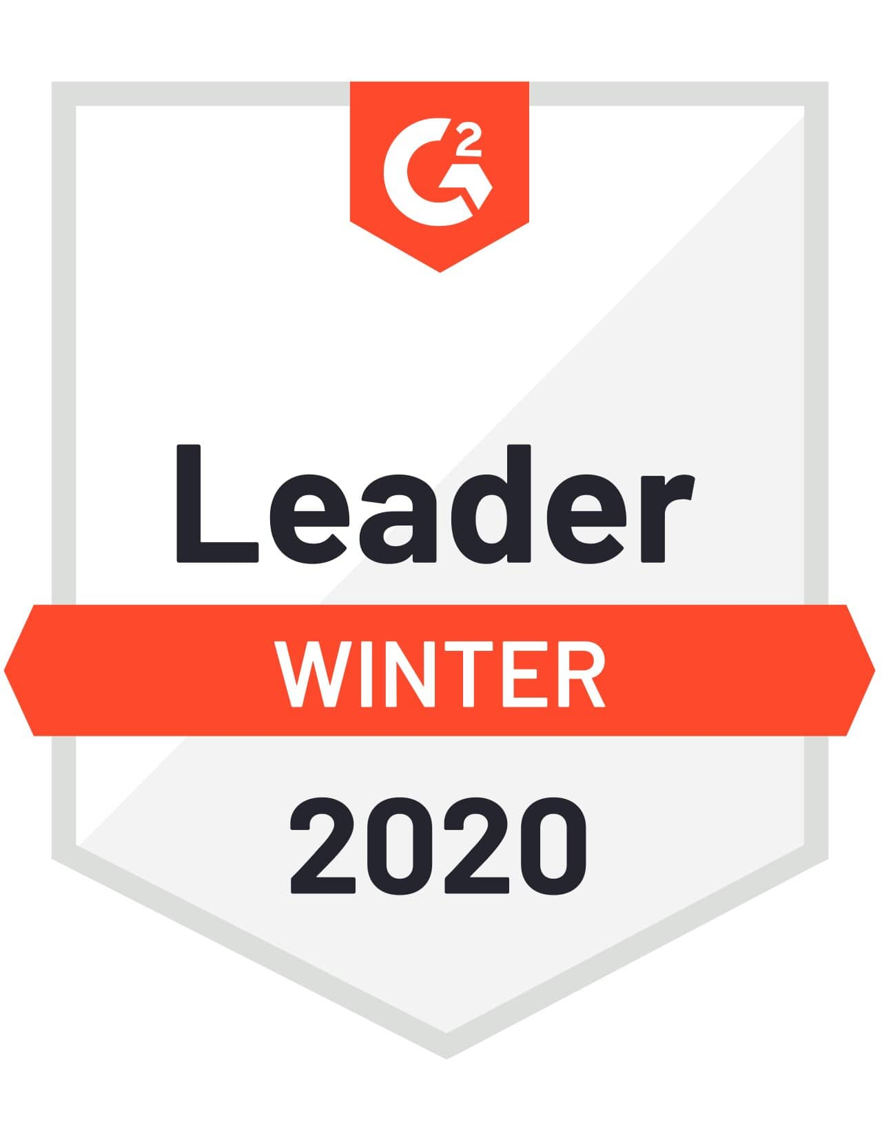 Badge from G2 Crowd for Windward: Leader Winter 2020