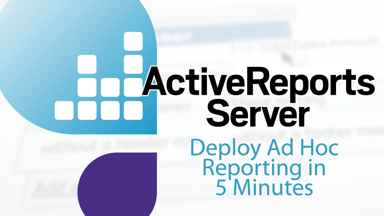 Active Reports Server
