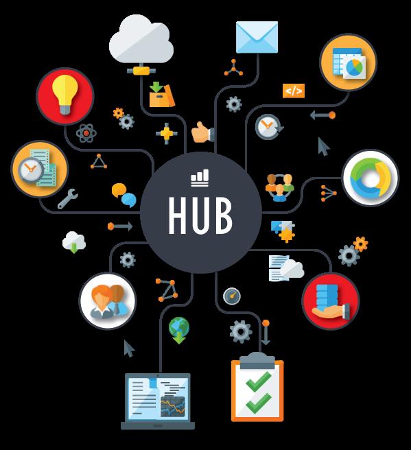 Hub product icon