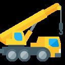 A cartoon construction crane.