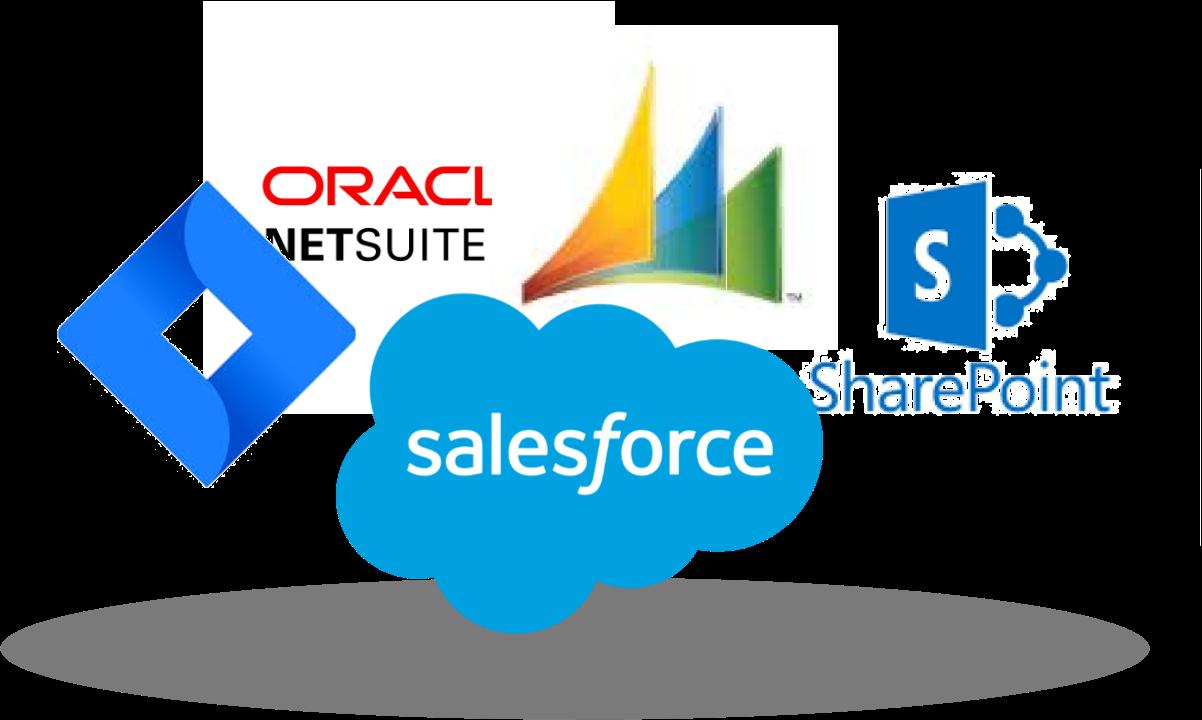 Example datasource logos