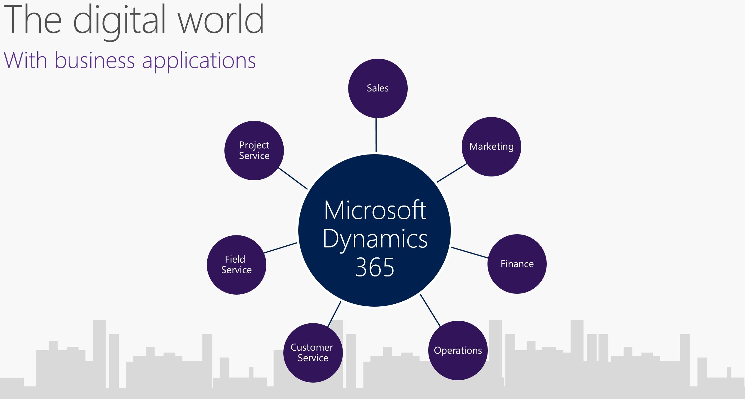 Microsoft Dynamic product line