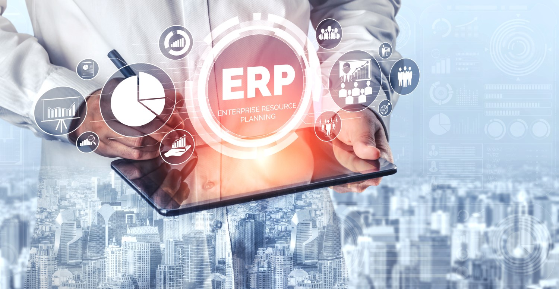 Enterprise Resource Planning ERP graphic