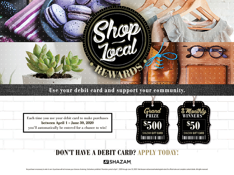 use your debit card support your local community  fsb blog