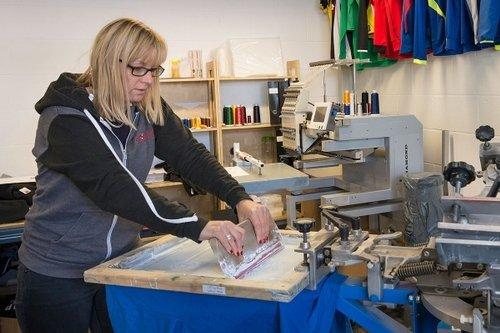 Shirt printing business