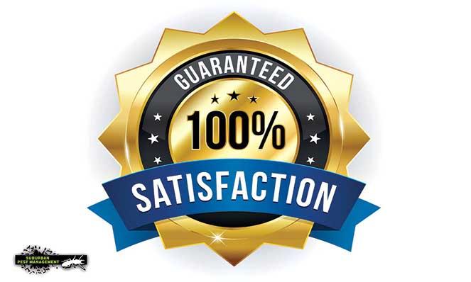 image of 100% satisfaction guarantee symbol