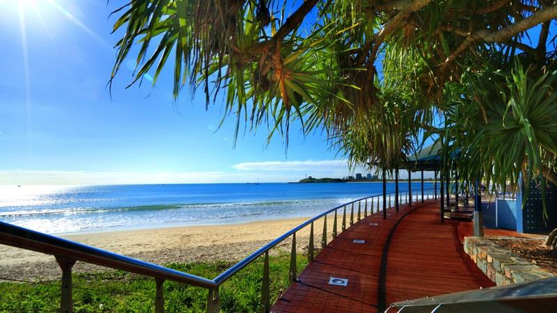coastal walk on Sunshine Coast
