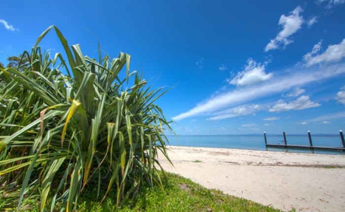Bongaree Beach view