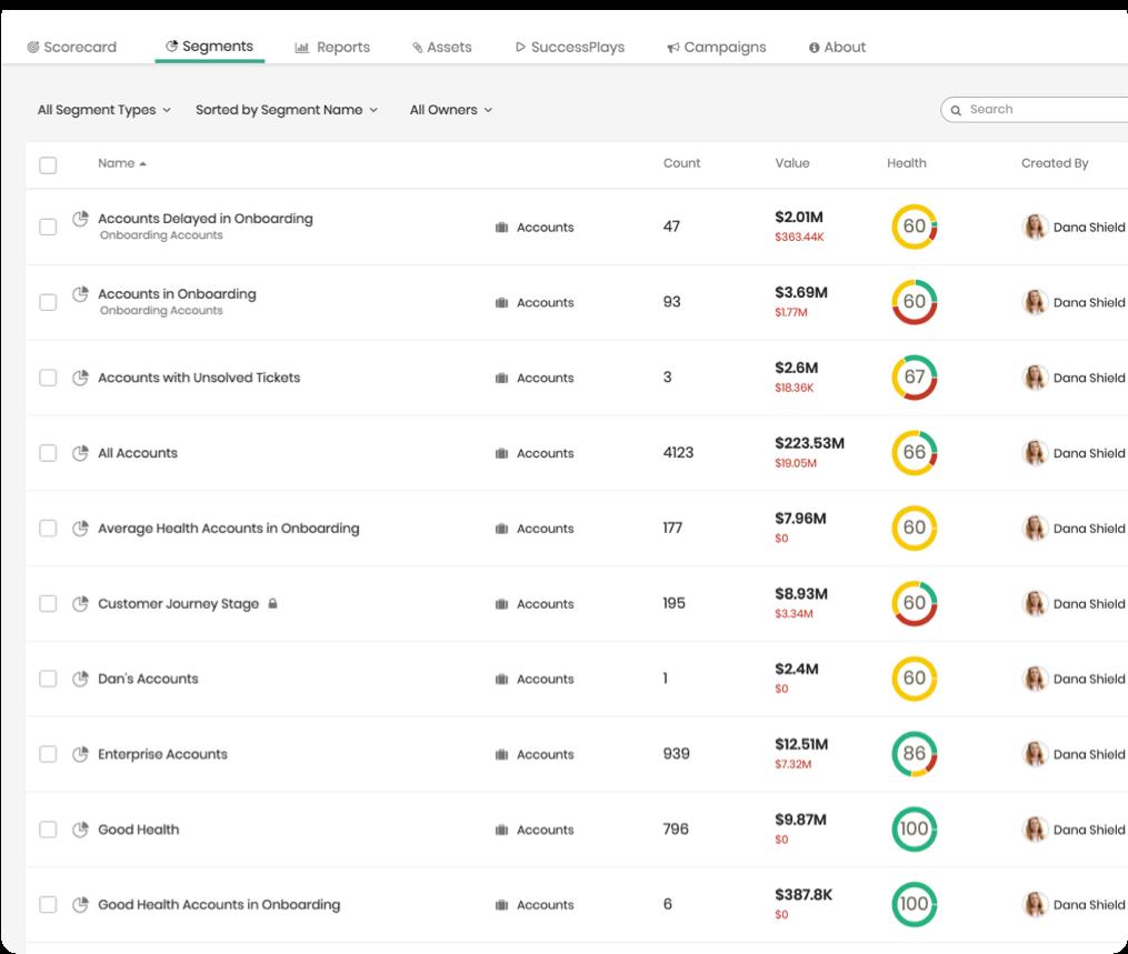 Totango Customer Data Platform