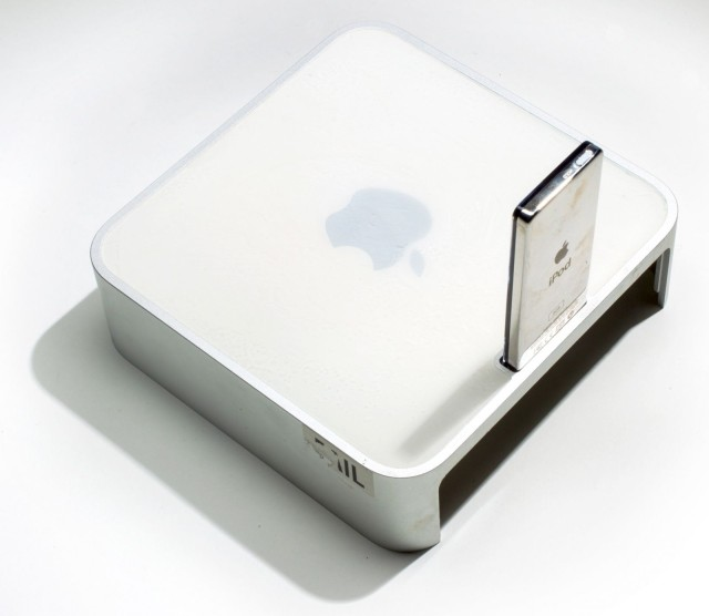Mac mini with dock