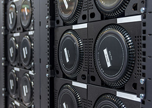 Rack of Mac Pros