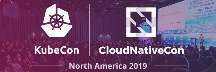 KubeCon + CloudNativeCon Logo