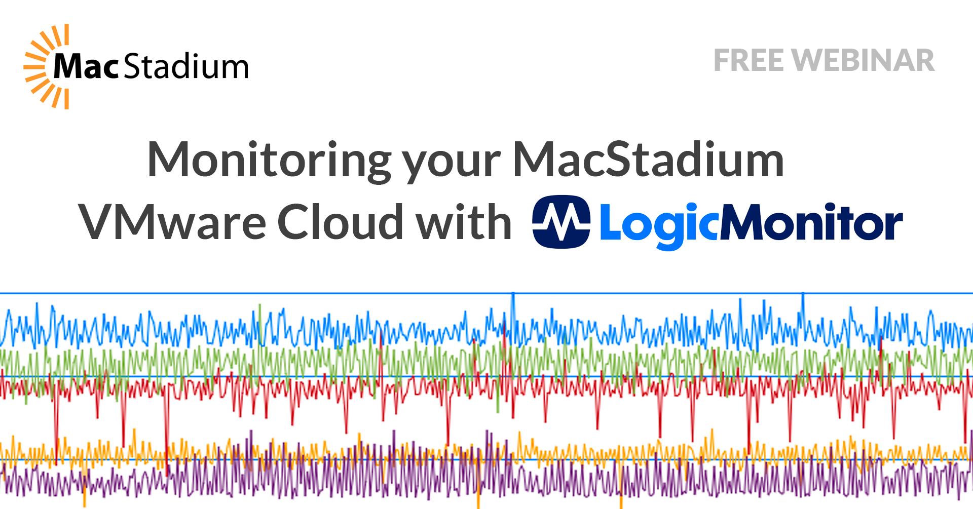 Basics of Monitoring your VMware Cloud at MacStadium with LogicMonitor