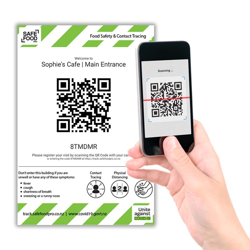 QR Code - Public Contact Tracing