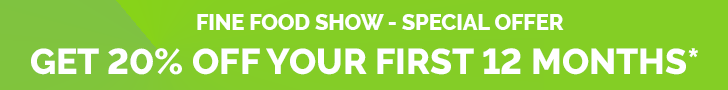 Fiine Food Show NZ - Special Offer, Get 20% Off Your First 12 Months, conditions apply.