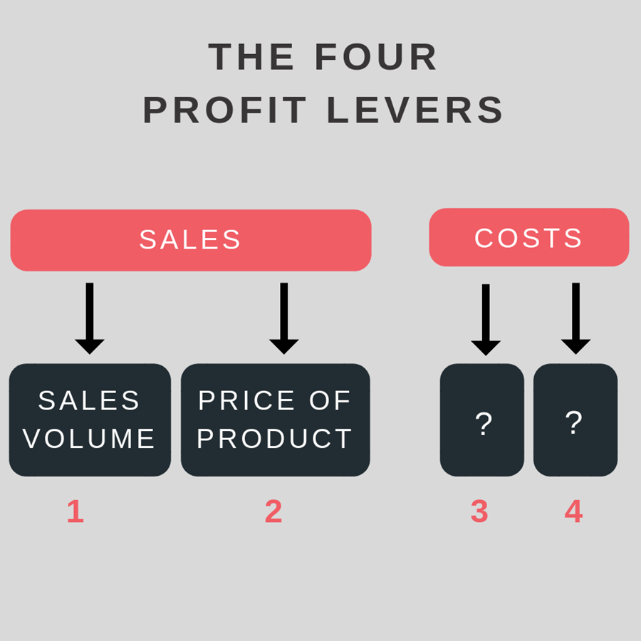 the four profit levers