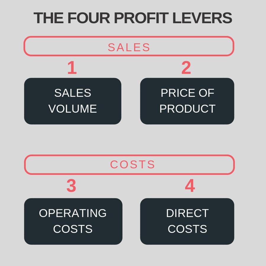 the four profit levers