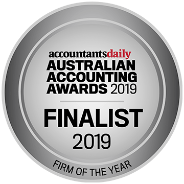 Australian Accountants Awards - (Finalist) - Firm of the Year
