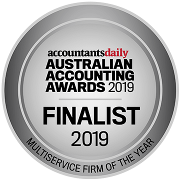 Australian Accountants Awards - (Finalist) - Multiservice Firm of the Year