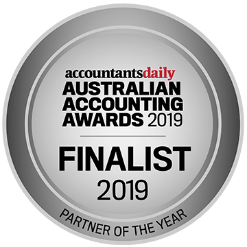 Australian Accountants Awards - (Finalist) Partner of the Year - John Liston