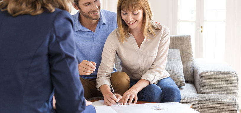 discussing home loans