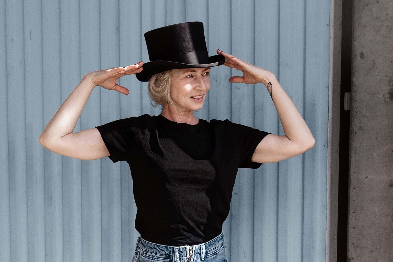 Hög hatt / Cylinder hatt