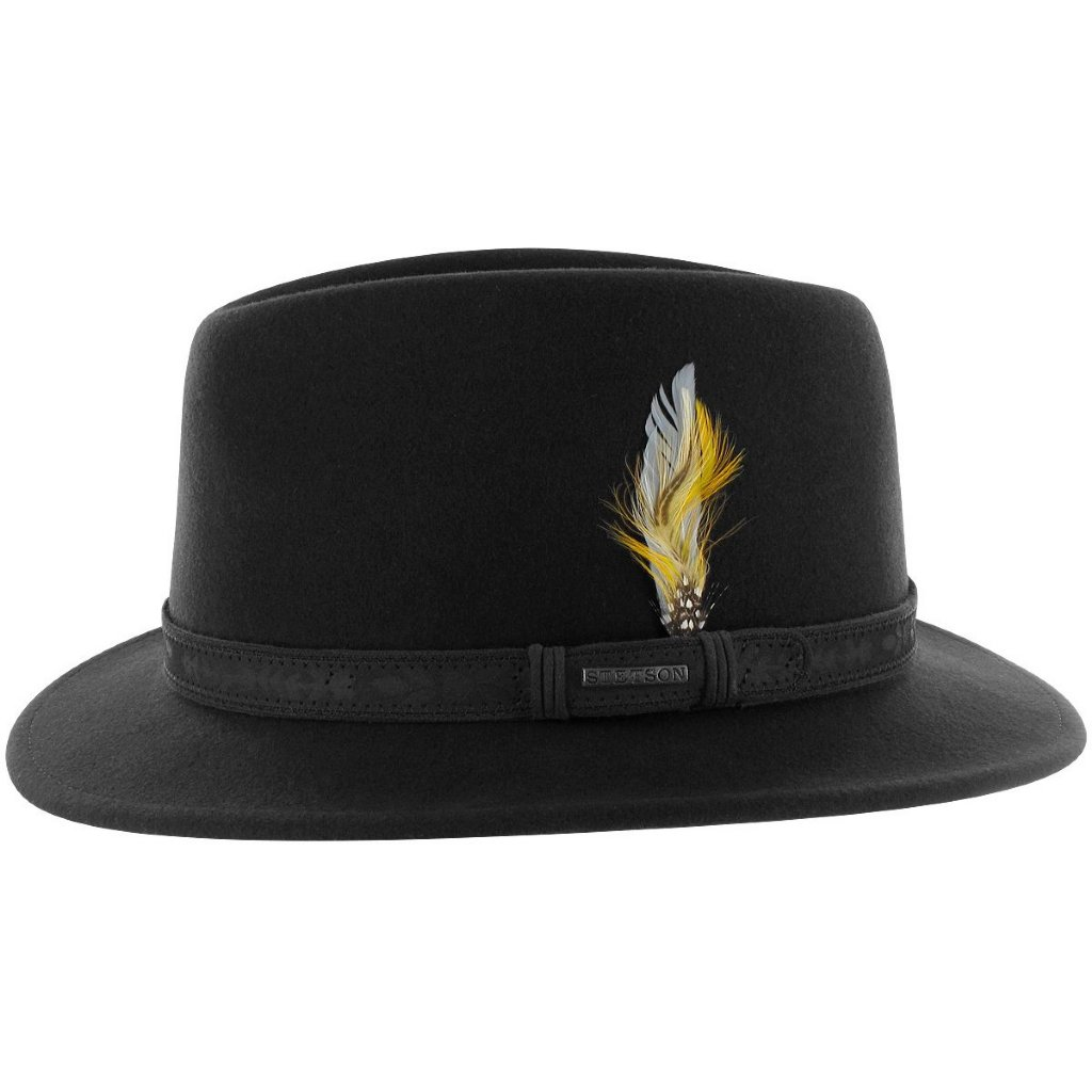 Stetson Traveller Vitafelt Wool Black