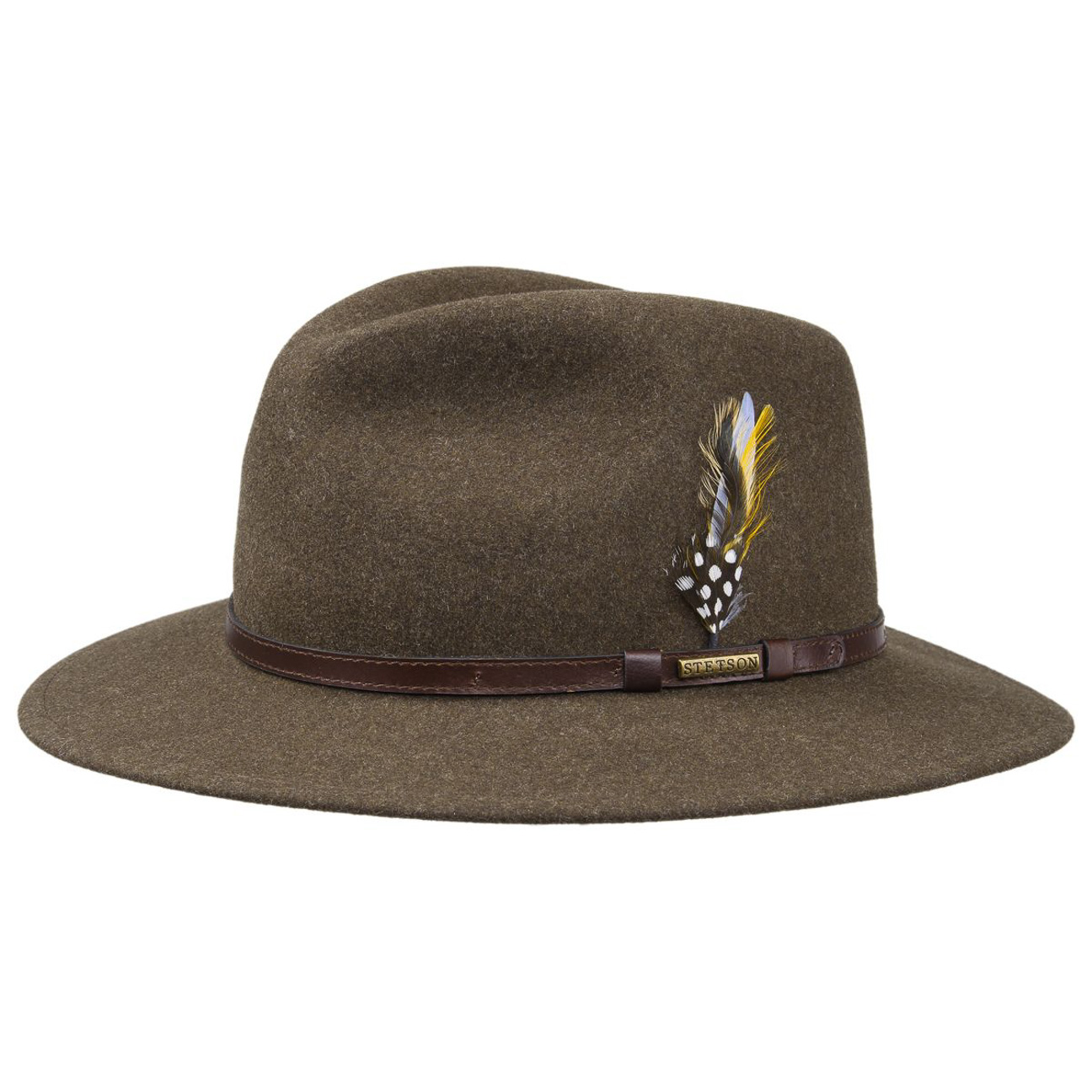 Stetson Traveller Vitafelt Brown