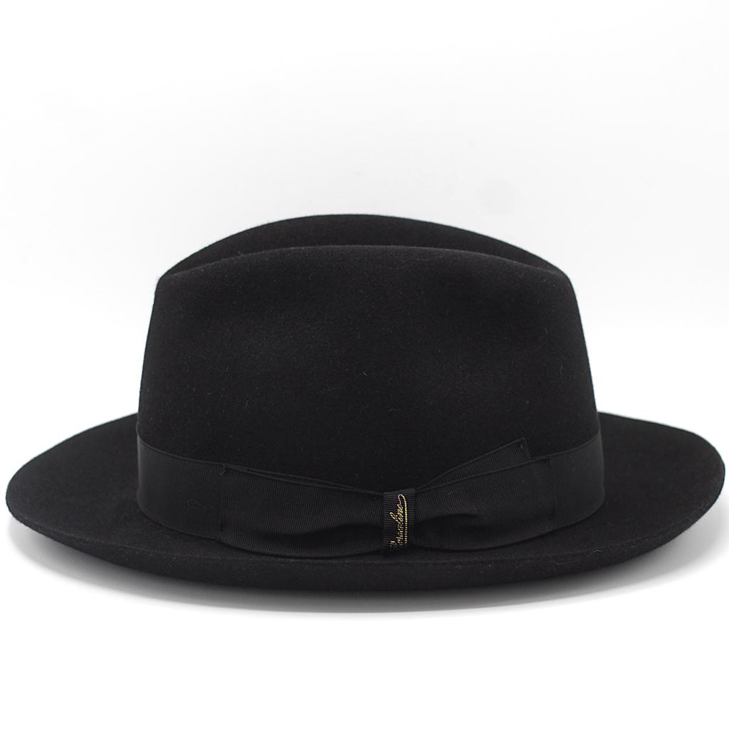 Borsalino Furfelt Medium Brim Black