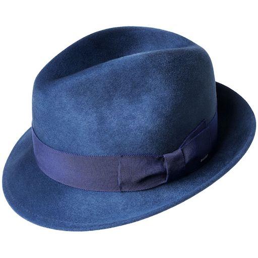 Bailey Riff Wool Smoke Blue