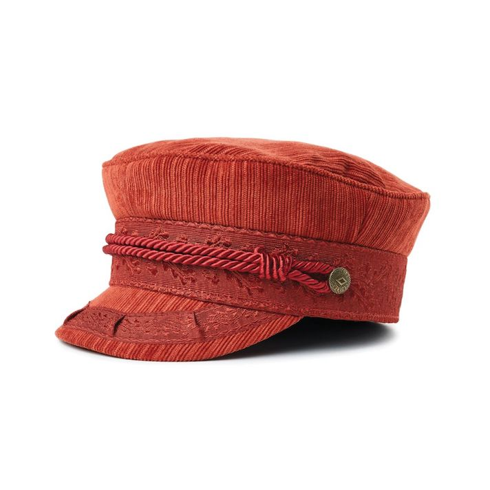 Brixton Albany Cap Red Clay