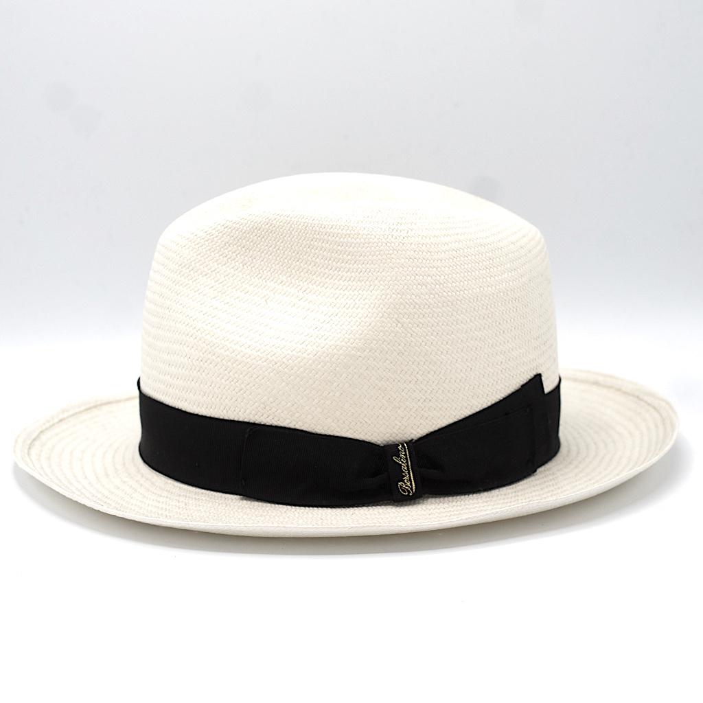 Borsalino Panama Hat White