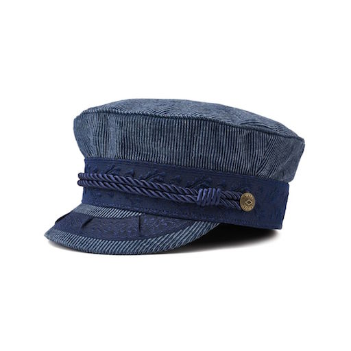 Brixton Albany Cap Light Navy
