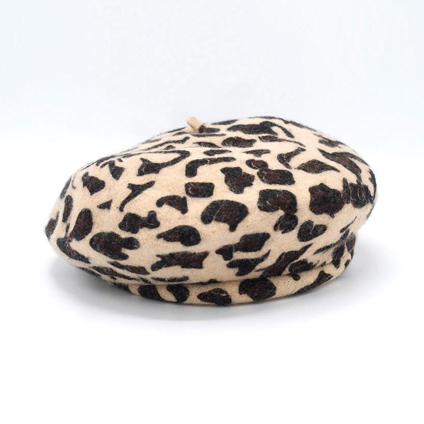 Brixton Audrey LW Beret Leopard