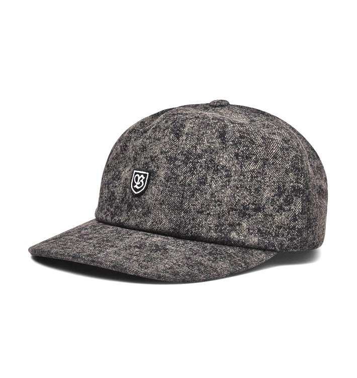 Brixton B-Shield III Cap Black Acid Wash