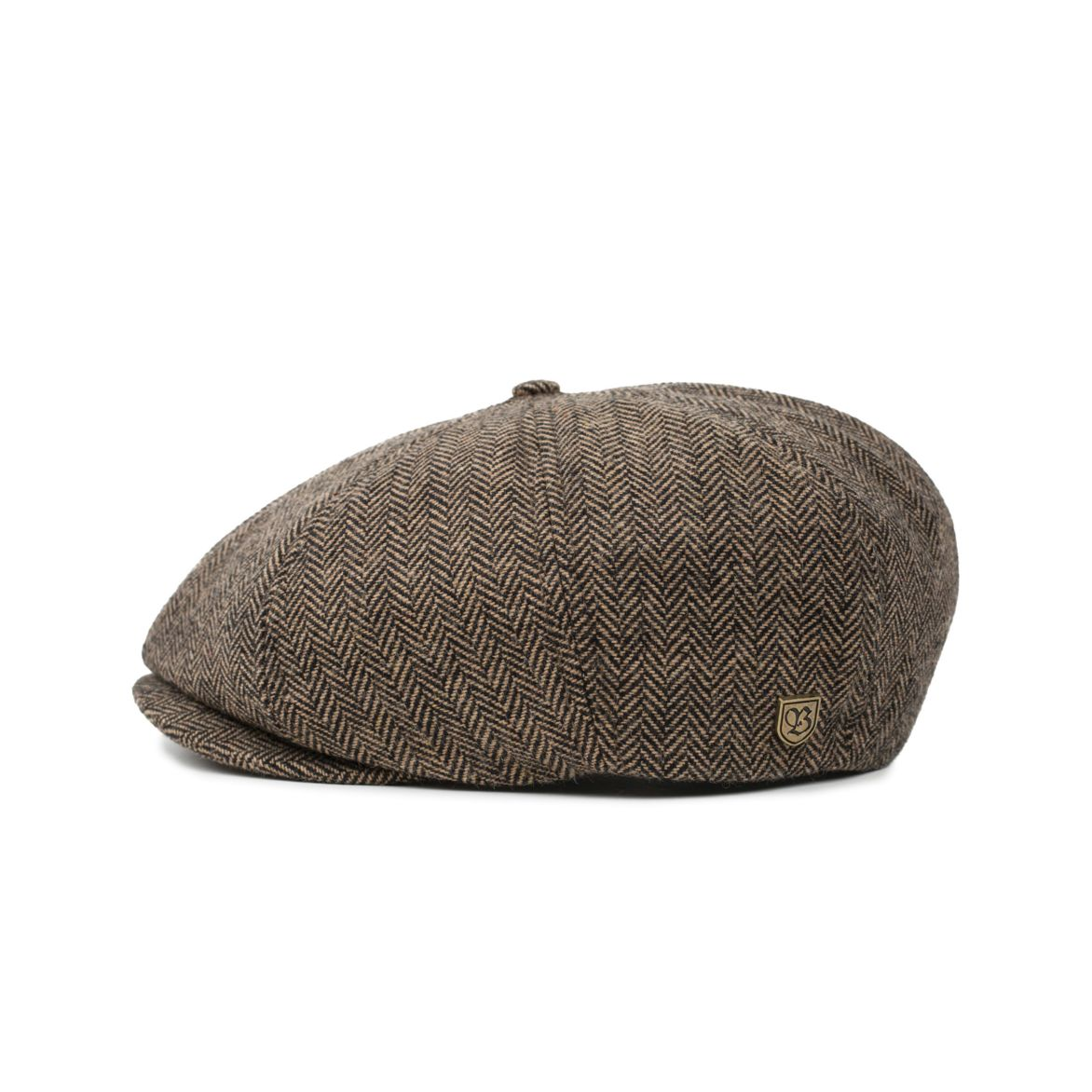 Brixton Brood Snap Cap Brown/Khaki