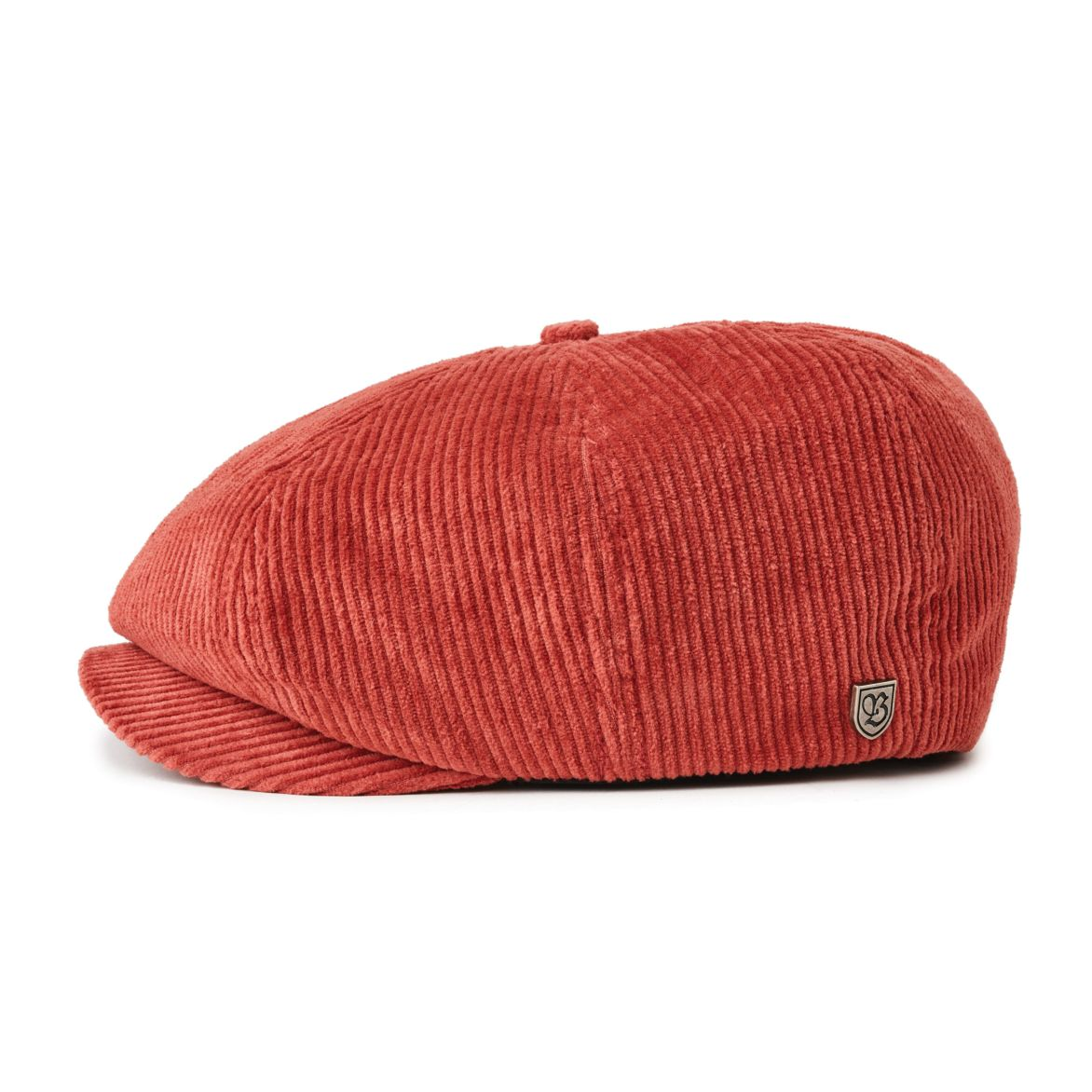 Brixton Brood Snap Cap Brick Cord