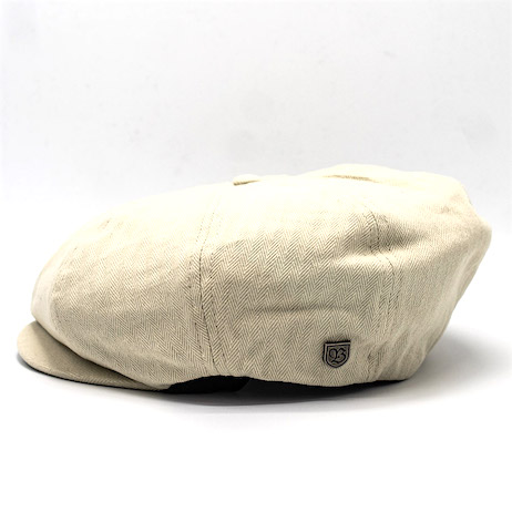 Brixton Brood Snap Cap Bone