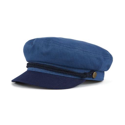 Brixton Fiddler Cap Blue / Dark Navy