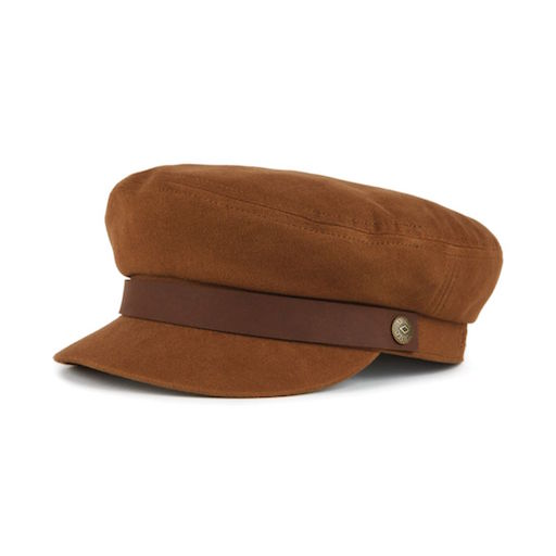 Brixton Fiddler Cap Brown / Dark Brown