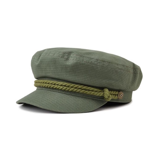 Brixton Fiddler Cap Light Olive
